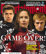 JENNIFER LAWRENCE JOSH HUTCHERSON Entertainment Weekly 10/9/15 HUNGER GAMES