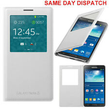 Genuine Samsung S VIEW FLIP CASE Galaxy NOTE 3 SM N9005 smartphone book cover