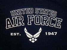 USAF United States Air Force Military Fighter Pilots Jet Plane T Shirt XL