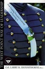 The West Point Way of Leadership, Donnithorne, Larry, Good Book