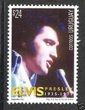 Music Rock and Roll Elvis Presley few issued URUGUAY Sc#1962 MNH STAMP