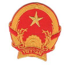 Parche bandera Vietnam emblema escudo de armas PATCH bordado termoadhesivo