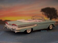 58 1958 FORD EDSEL CONVERTIBLE DIECAST COLLECTIBLE MODEL - 1/64 SCALE DIORAMA