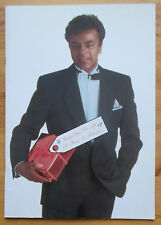 Johnny Mathis with Jeannine Burnier In Concert '87 souvenir brochure 1987