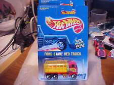 Hot Wheels Collector #237 Ford Stake Bed Truck with 3 Spoke Wheels