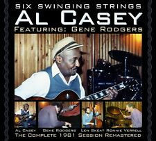 AL & RODGERS,GENE/SKEAT,LEN/VERRELL,RONNIE CASEY - SIX SWINGING STRINGS  CD NEU