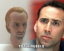 """WOLFKING 1/6 model Nicolas Cage Head Sculpt Fit 12"""" Action Figure in stock"""