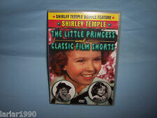 SHIRLEY TEMPLE~THE LITTLE PRINCESS & CLASSIC FILM SHORTS DVD~