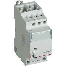 BTICINO FT2A4N230 BTDIN - CONTATTORE 4NO 25A BOB 230VAC AC3