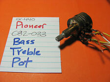 PIONEER C82-033 BASS TREBLE POT SX-440 STEREO RECEIVER