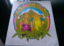 "Vintage  R.CRUMB ""GROW YOUR OWN"" FREAK BROS  Iron-On Transfer by Roach"
