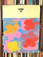 RARE ANDY WARHOL SERIGRAPH POSTER FROM SHOW LOOK AT WARHOL  DUSSELDORF