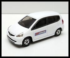 TOMICA #100 HONDA FIT JAZZ 1/59 TOMY DIECAST CAR WHITE NEW