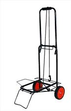 Folding Lightweight Luggage Cart Trolley With Bungee Cord Strong Up to 50 kg
