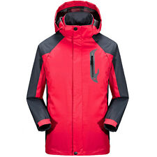 Hooded Windbreaker Men Outdoor Ski Snow Jacket Coat Climbing Jackets Sportswear