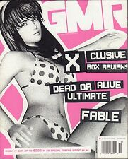 GMR October 2004 Dead or Alive Ultimate, Fable  VG 070816DBE2