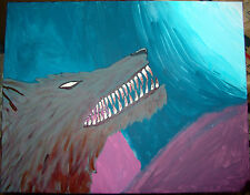 Lycanthropy Beast of the Night Hell Hound haunted painting spirit dybbuk energy