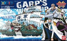 BANDAI ONE PIECE MODEL KIT GRAND SHIP COLLECTION #08 MARINE CARP'S WARSHIP NEW