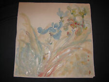 RARE CHINESE PAINTING SIGNED ARTIST 27 1/2 x 27 1/2 ORIENTAL ART ASIAN FLOWERS