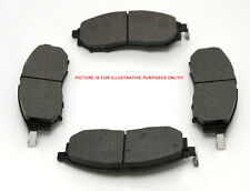 Front Brake Pads (4) For Mitsubishi L200 Pickup B40 2.5TD 03/2006 On