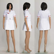 Joker Nurse White Uniform Batman Fancy Dress Costumes Coat Cosplay for Party