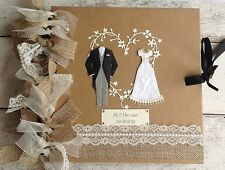 PERSONALISED Rustic Wedding Album/Guestbook
