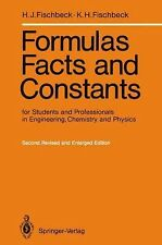 Formulas, Facts and Constants for Students and Professionals in Engineering, Che