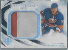 2010-11 UD ULTIMATE DEBUT THREADS NINO NIEDERREITER RC 2 COLOR PATCH 30/35!!