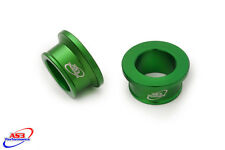 KAWASAKI KX 85 2001-2017 REAR WHEEL SPACERS GREEN