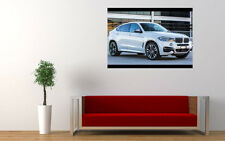 2015 BMW X6 M50D NEW GIANT LARGE ART PRINT POSTER PICTURE WALL