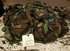 (5) NEW US Army Woodland Camo Alice LC II Rucksack Pack/Spare Tire Cover