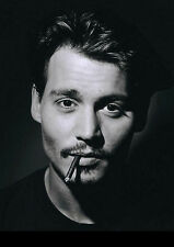 JOHNNY DEPP Poster Photo Picture Print A4 260GSM