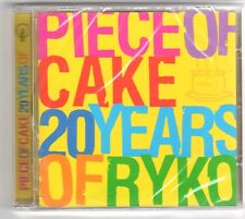 (GQ202) Piece of Cake, 20 Years of Ryko, 20 tracks - 2003 - Sealed Mojo CD