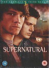 SUPERNATURAL - Series 3. Jared Padalecki, Jensen Ackles (NEW/SEALED 5xDVD BOX SE