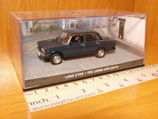 LADA 2105 1:43 THE LIVING DAYLIGHTS JAMES BOND 007 CAR