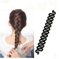 Women French Hair Braiding Tool Roller With Magic hair Twist Styling Bun Maker