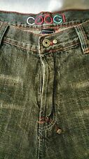 COOGI JEANS 38x34 embroidered distressed authentic Australian hip hop