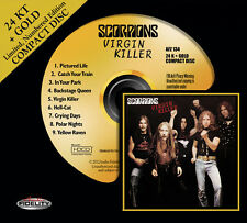 SCORPIONS Virgin Killer 24 KT GOLD CD Audio Fidelity (2013) NEW