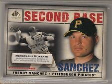 2008 UD Sp Legendary Cuts FREDDY SANCHEZ Memorable Moments 1/1 Rare