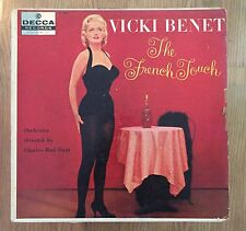 Vicki Benet The French Touch LP Orig Decca 1957 Female Vocal French