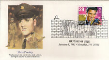 ELVIS PRESLEY - FIRST DAY COVER 013 STAMPED IN MEMPHIS