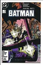 BATMAN # 406 (YEAR ONE PART 3, APR 1987), VF+