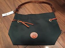 Dooney & Bourke Aegean Blue Leather Trim Small Shoulder Bag Nwt New