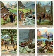 Chromo Liebig Sang. 1386 ITA Guglielmo Tell II (Opera di Rossini) ANNO 1938