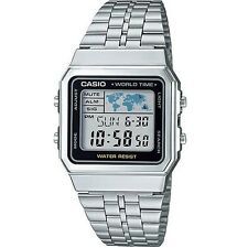 Casio Collection A500WA-1DF LCD Herren Digital Chronograph