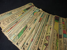 Old Vtg Original Newspaper LOT Comics of Felix The Cat Quotes and Numerous words