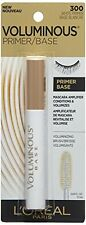 L'OREAL VOLUMINOUS PRIMER/BASE MASCARA AMPLIFIER #300 WHITE NEW & SEALED ON CARD