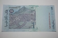 (PL) RM 1 XF 0000077 UNC 5 ZERO NICE, FANCY, LOW & SPECIAL NUMBER NOTE - RARE