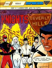 THE KNIGHTS OF BEVERLY HILLS VF! ENFORCERS Unplayed Module Superhero Hero Super