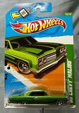 2012 Hot Wheels Treasure Hunts '65 CHEVY MALIBU no. #10 of 15 New on Card